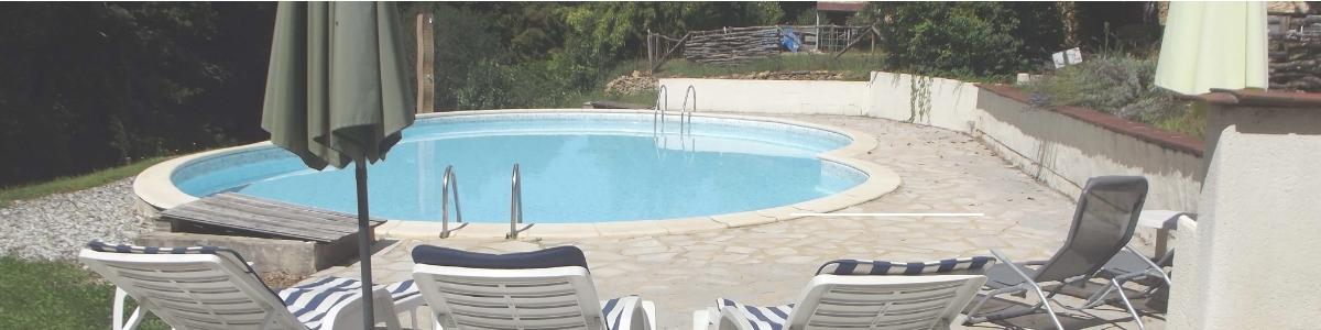 Vakantie-Dordogne-Peyrelevade met zwembad